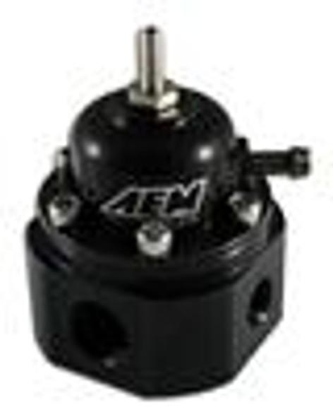 AEM Universal Black Adjustable Fuel Pressure Regulator