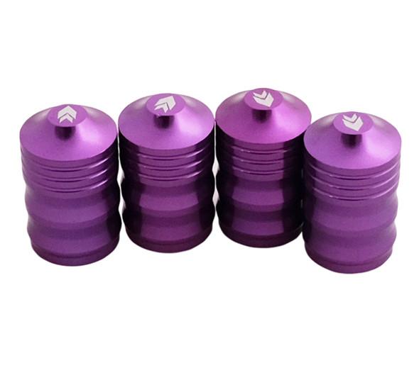 NRG Aluminum Sport Style Valve Stem Cap - Purple