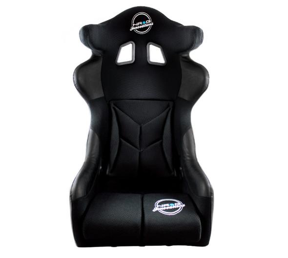 NRG FIA Competition Seat w/Competition Fabric & FIA Homologated Head Containment