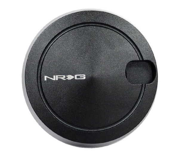 NRG Quick Lock V2 w/Free Spin - Black (Will Not Work w/Thin Version QR or Quick Tilt System)
