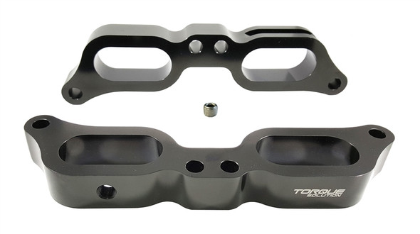 Torque Solution Billet TGV Delete Kit 2015 Subaru WRX - Black