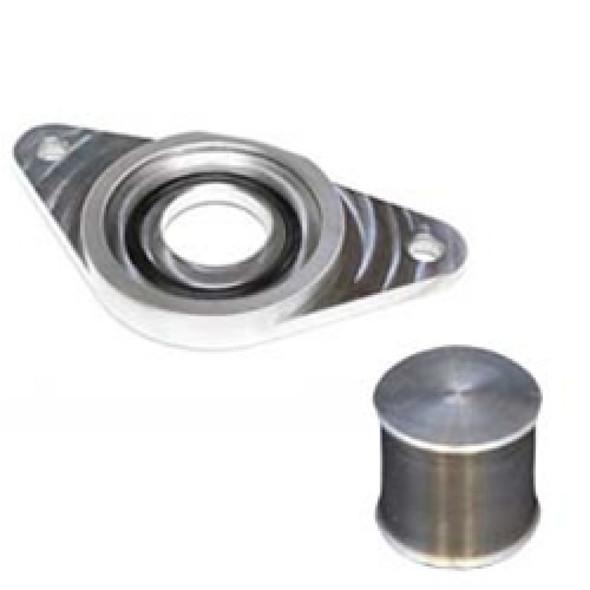Torque Solution HKS BOV Adapter Flange w/ Plug: Subaru WRX / STi