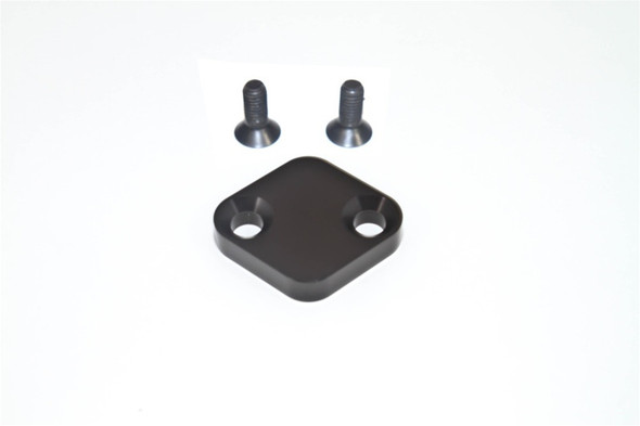 Torque Solution Billet EGR Solution Kit (Black No Logo): Mitsubishi Evolution 2003-2006