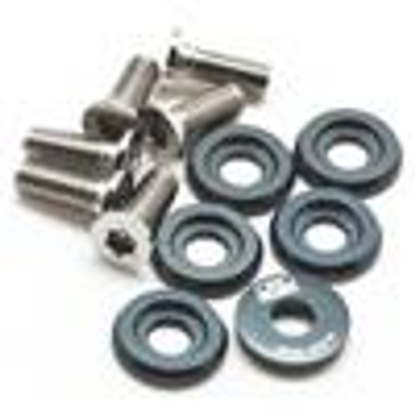 BLOX Racing Small Diameter Fender Washers - Gunmetal