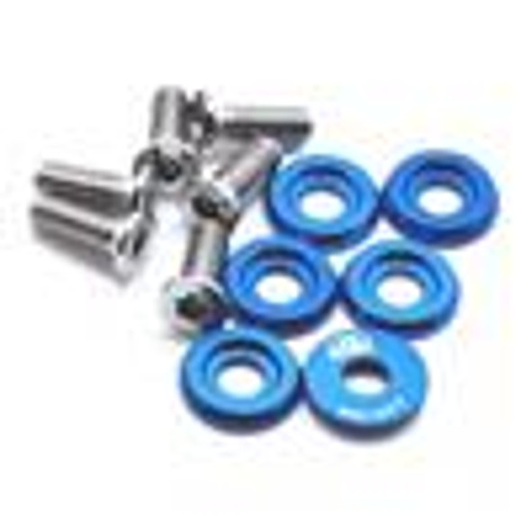 BLOX Racing Large Diameter Fender Washers - Blue