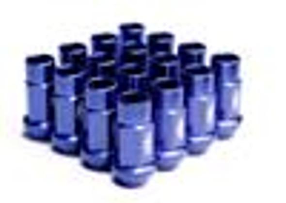 BLOX Racing Street Series Forged Lug Nuts - Blue 12 x 1.25mm - Single piece