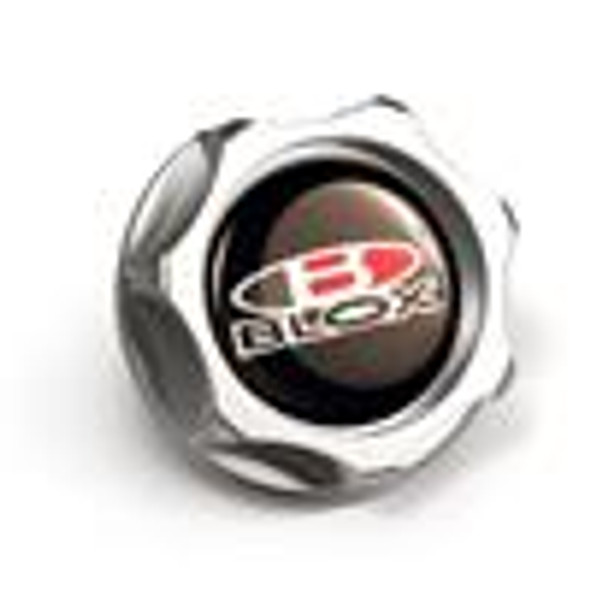 BLOX Racing Billet Honda Oil Cap - Silver