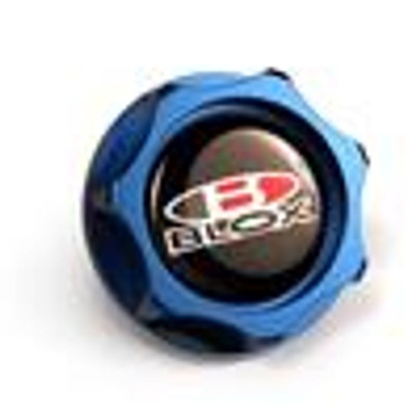 BLOX Racing Billet Honda Oil Cap - Blue
