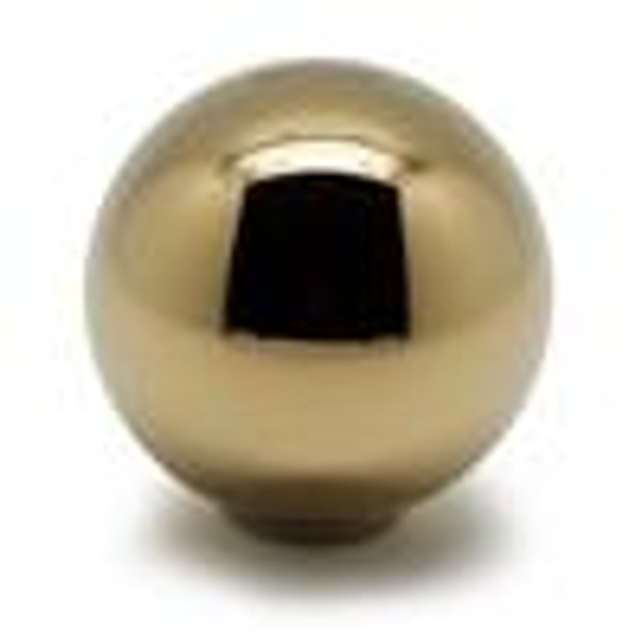 BLOX Racing 490 Limited Series Spherical Shift Knob 12x1.25 - 24K Gold