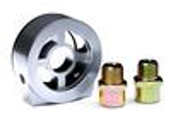 BLOX Racing Oil Filter Block Adapter Silver / For Oil Pressure / Oil Temperature
