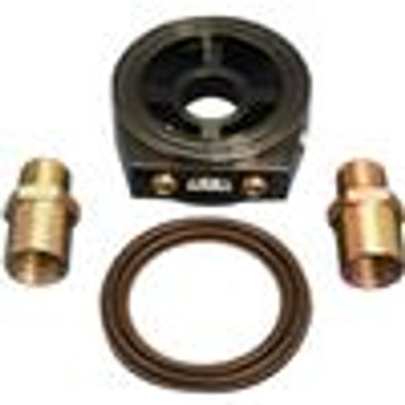 BLOX Racing Oil Filter Block Adapter Black / For Oil Pressure / Oil Temperature