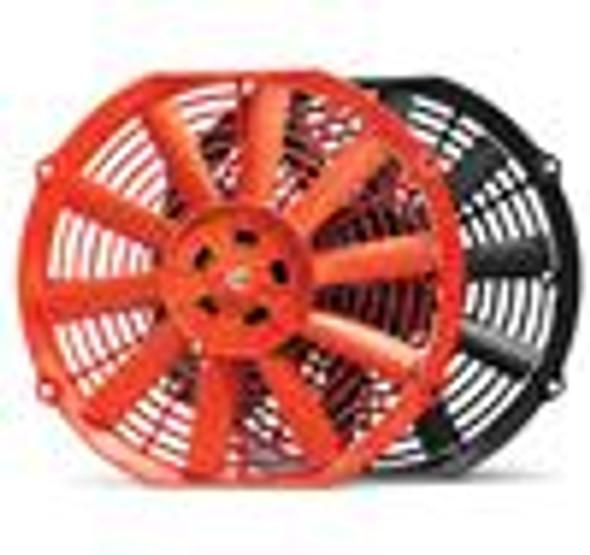 BLOX Racing 12inch Electric Slim Fan - Red