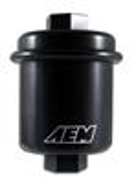 AEM 94-01 Acura Integra / 94-97 Honda Accord / 96-00 Civic / 97-01 Prelude Black Fuel Filter Kit