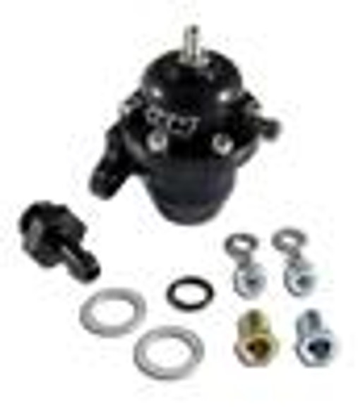 AEM 98-99 Acura CL / 00-05 S2000 / 98-02 Accord / 96-00 Civic Black Adjustable Fuel Pressure Regulat