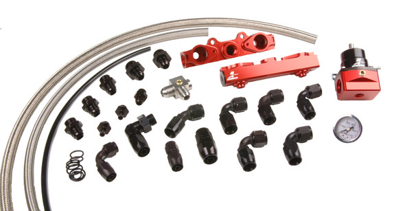 Aeromotive 04-06 2.5L Side Feed Injector Subaru STI Fuel Rail Kit