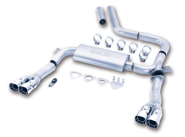 Borla 98-01 CAMARO/TRANS AM 5.7L V8 AT/MT Catback Exhaust Quad Tips