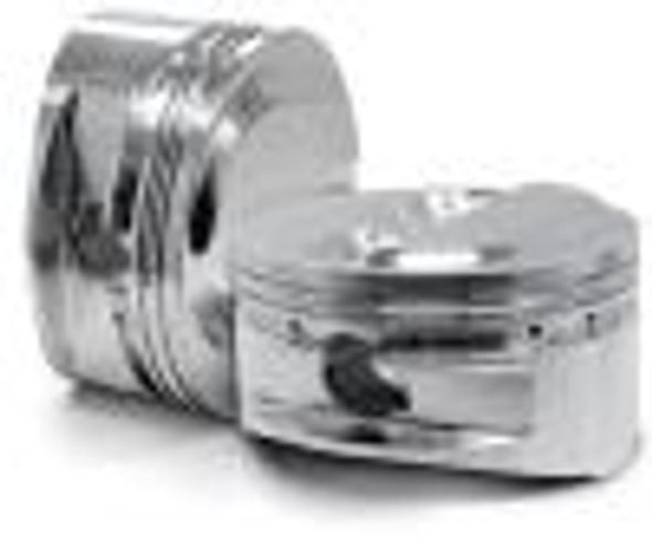 CP Piston & Ring Set for Acura B18C1 - Bore (81.5mm) - Compression Ratio (9.8)