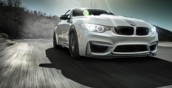 Vorsteiner BMW F8X M3/M4 VRS GTS Aero Front Spoiler Carbon Fiber PP 1x1 Glossy