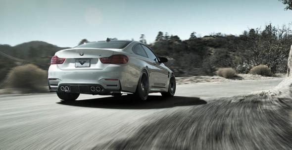 Vorsteiner BMW F8X M3/M4 VRS GTS Aero Rear Diffuser Carbon Fiber PP 1x1 Glossy