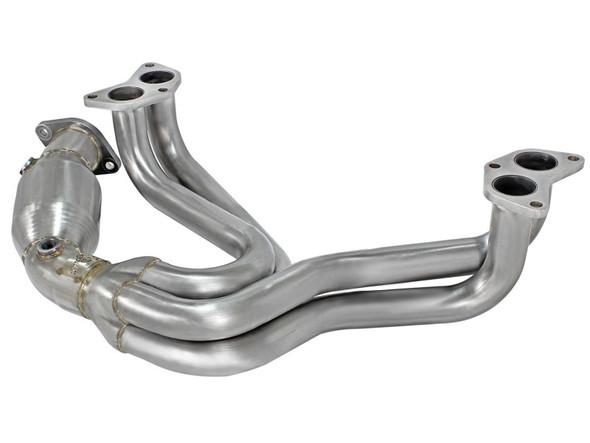 aFe Twisted Steel Header w/ Cat 13-15 Scion FRS / Subaru BRZ 2.0L