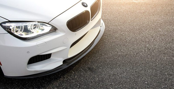 Vorsteiner BMW F12 M6 VRS GTS-V Aero Performance Front Spoiler Carbon Fiber PP 1x1 Glossy