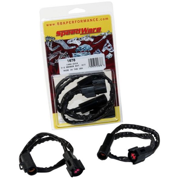 BBK 86-10 Mustang 5.0 4.6 O2 Sensor Wire Harness Extensions (pair)
