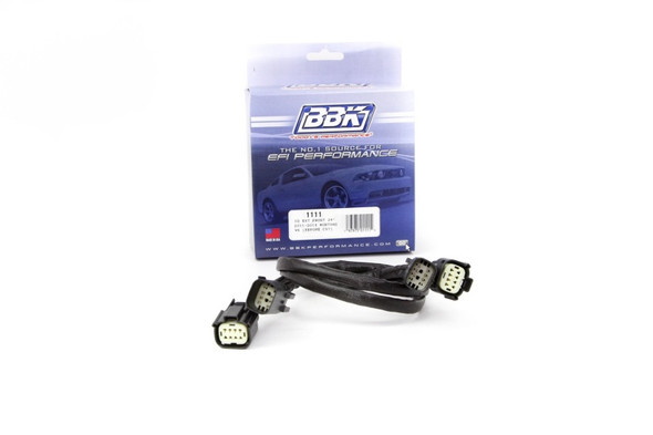 BBK 11-14 Mustang V6 Front O2 Sensor Wire Harness Extensions 24 (pair)