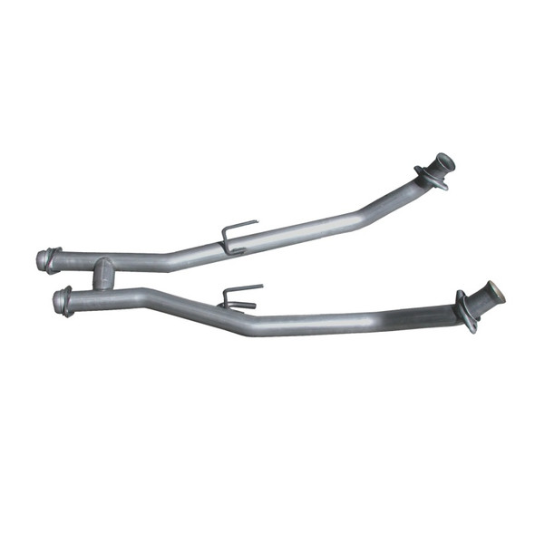BBK 86-93 Mustang 5.0 High Flow H Pipe - Off Road Race Use - 2-1/2