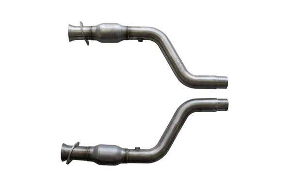 BBK 05-15 Dodge Challenger Charger Short Mid X Pipe w Catalytic Converters 2-3/4 For LT Headers