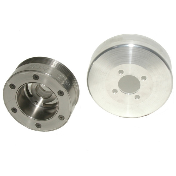BBK 05-09 Mustang 4.6 Underdrive Pulley Kit - SFI Approved Kit (3pc)