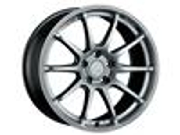 SSR GTV02 18x8.5 5x100 44mm Offset Flat Black Wheel 02-05 WRX