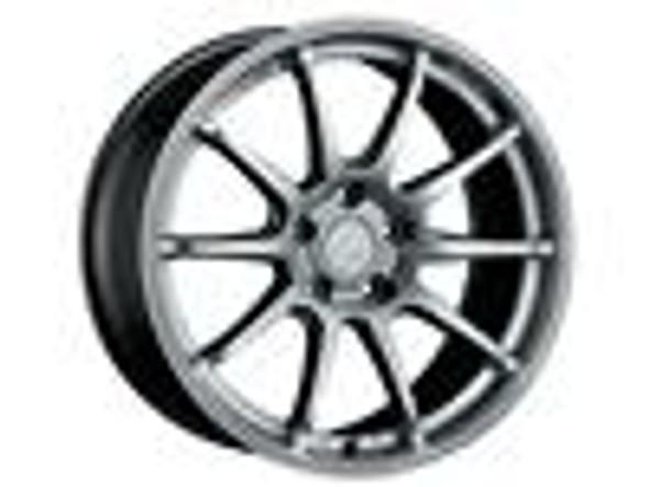 SSR GTV02 18x9.5 5x114.3 22mm Offset Flat Black Wheel Evo 8 9 X / G35 / 350z / 370z