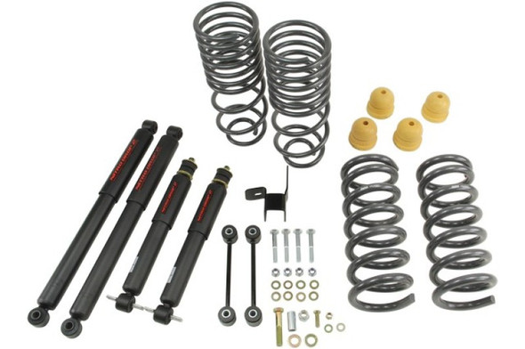 Belltech 09-13 Dodge Ram 1500 Std Cab Lowering Kit w/ND II Shocks - 2in F/4in R Drop