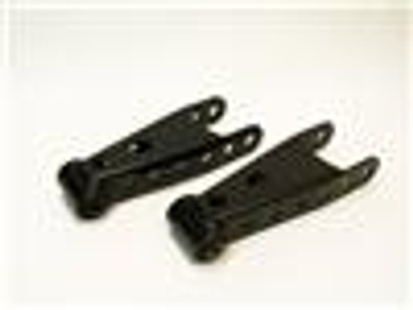 Belltech SHACKLE KIT 01-08 GM HD 1500-2500-3500 3inch