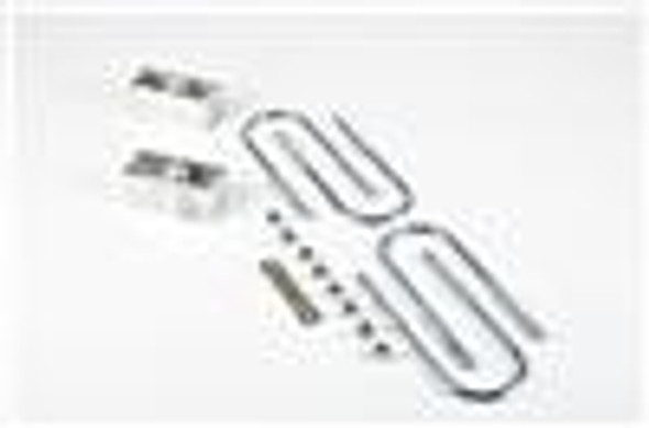 Belltech LOWERING BLOCK KIT 2inch WITH 2 DEGREE ANGLE