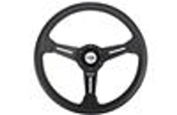GReddy Boost Brigade 340mm Black Suede Steering Wheel