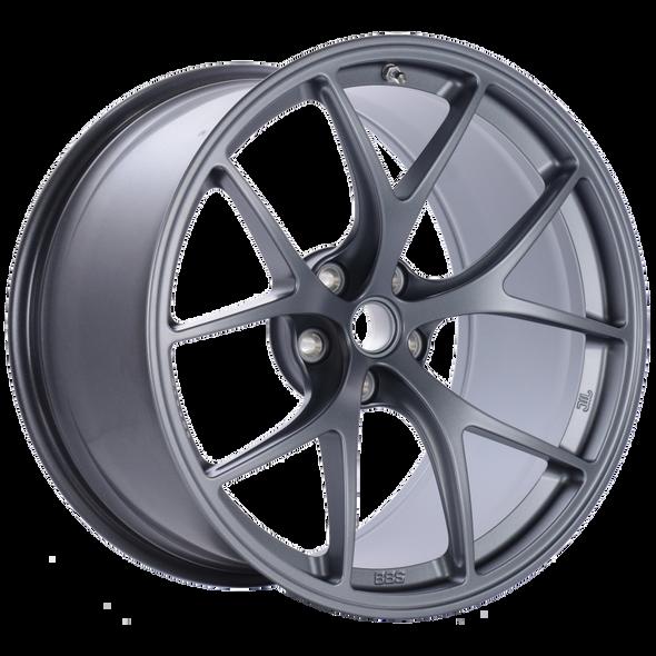 BBS FI 19x11.25 5x108 ET23 CB67 Satin Titanium Wheel