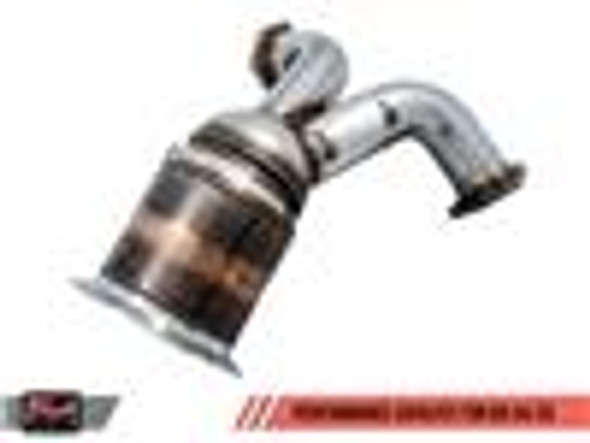 AWE Tuning Audi B9 3.0T Performance Downpipe for S4/S5