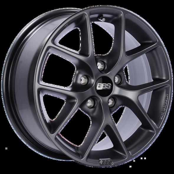 BBS SR 16x7 5x115 ET36 CB70.2 Satin Grey Wheel