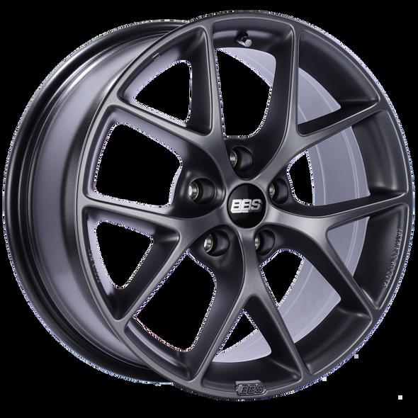 BBS SR 17x7.5 5x108 ET45 Satin Grey Wheel -70mm PFS/Clip Required