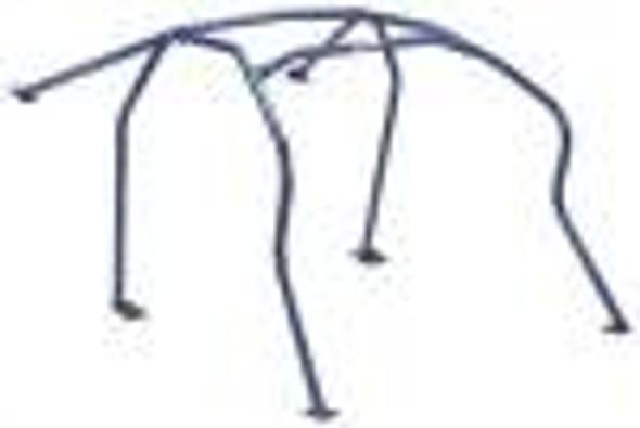 Cusco D1 Chromoly 4-Psgr 4-PT Rear Roll Cage CUSCO BLUE 91-97 Lexus SC300 (Sunroof Model Only)
