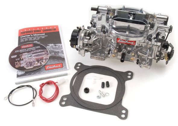 Edelbrock Carburetor Off-Road 4-Barrel 650 CFM Electric Choke Satin Finish