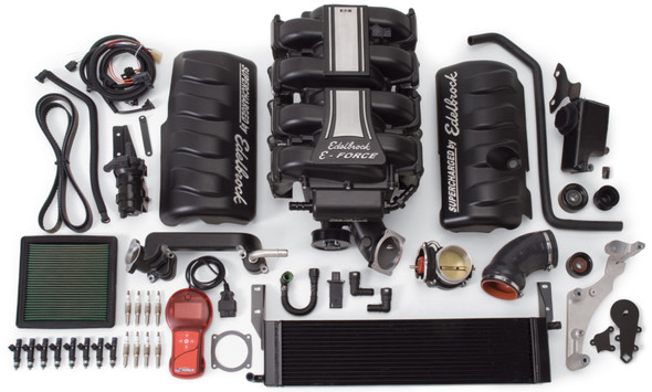 Edelbrock Supercharger Stage 1 - Street Kit 2005-2009 Ford Mustang 4 6L 3V w/ Tuner