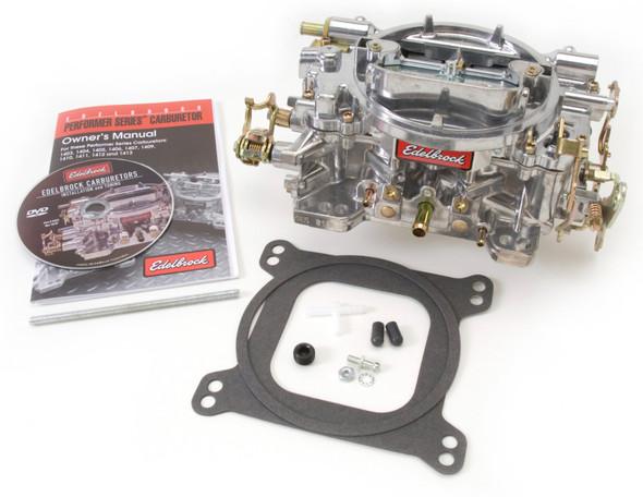 Edelbrock Carburetor Performer Series 4-Barrel 600 CFM Manual Choke Satin Finish