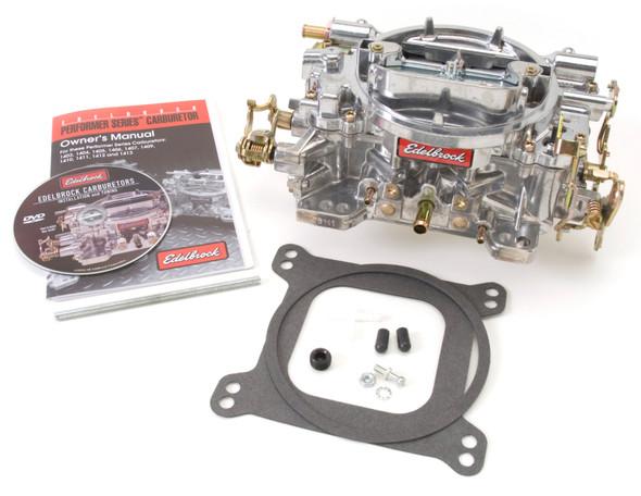 Edelbrock Carburetor Performer Series 4-Barrel 750 CFM Manual Choke Satin Finish
