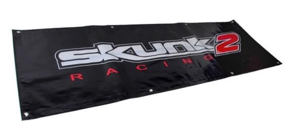 Skunk2 5 FT. Vinyl Shop Banner (Black)