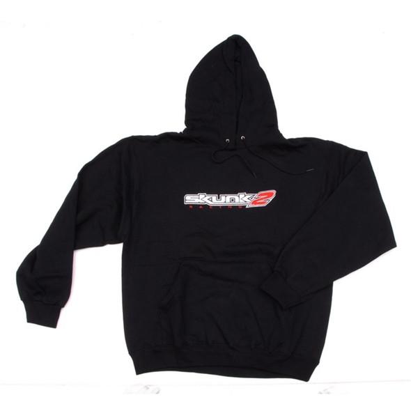 Skunk2 Embroidered Logo Hooded Sweatshirt - L (Black)
