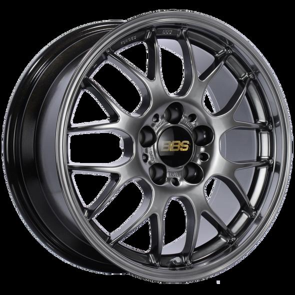 BBS RG-R 17x9 5x120 ET42 Diamond Black Wheel -82mm PFS/Clip Required