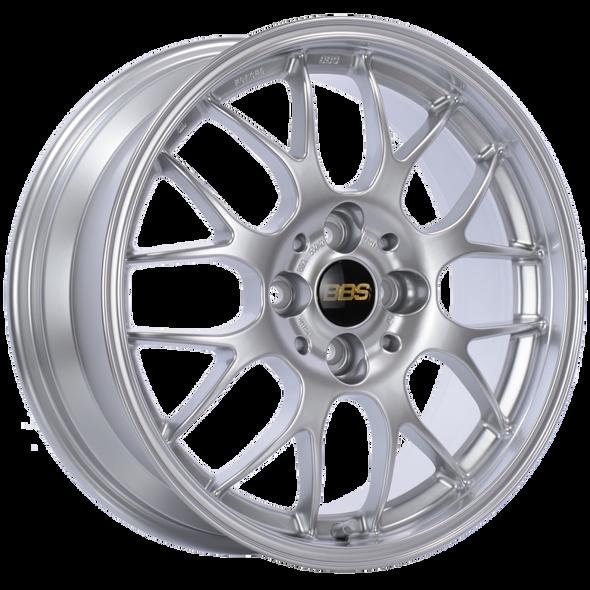 BBS RG-R 17x9 5x120 ET42 Diamond Silver Wheel -82mm PFS/Clip Required