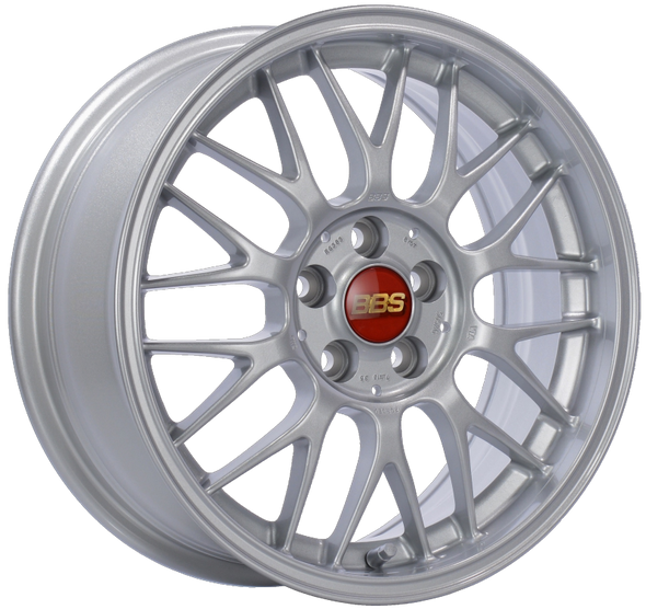 BBS RG-F 16x7 5x100 ET35 Sport Silver Wheel -70mm PFS/Clip Required